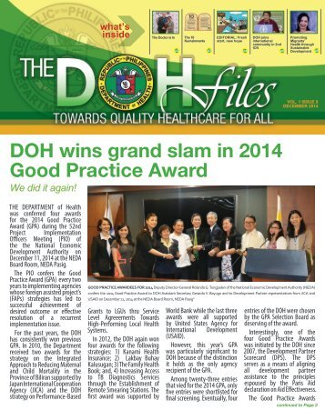 DOH-Files-Vol.-1-Issue-8-December,-2014