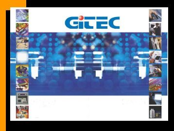 catalogo de producto 2006 product catalogue 2006 - gitec ...