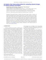 An iterative, fast, linear-scaling method for computing induced ...