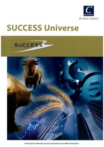 Aici, Folderul de Produse Success Universe (.pdf| 2.70 - MBI