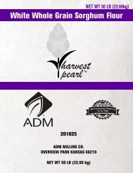 White Whole Grain Sorghum Flour - ADM