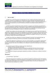 SIAD, système d'aide à la décision - Logistique conseil