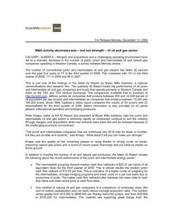 PDF news release - BMIR - Bryan Mills Iradesso