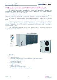 04. bomba calor aire-agua alta eficiencia con ... - Plomyplas