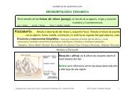 Geomorfología Dinámica
