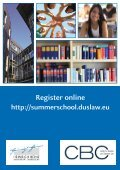 8th Summer School on European Business Law 2012 August 20th ... - Page 6