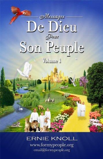 Messages de Dieu Pour Son Peuple Volume 1 (PDF)