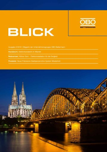 Ausgabe 2/2010 | Magazin der ... - OBO Bettermann