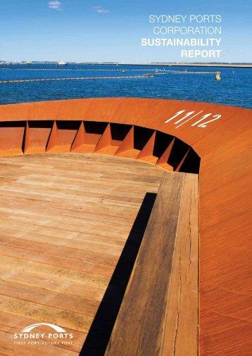 Sustainability Report 2011/2012 - Sydney Ports