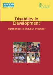 Development Disability in - Handicap International