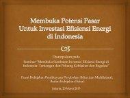 Membuka Potensi Pasar Untuk Investasi Efisiensi Energi di ... - IESR