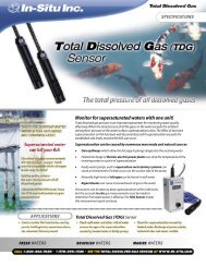 Total Dissolved Gas (TDG)