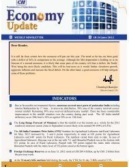 Economy Update 18-24 June 2012 - CII