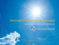 Folie 1 - Bureau de coordination énergies renouvelables