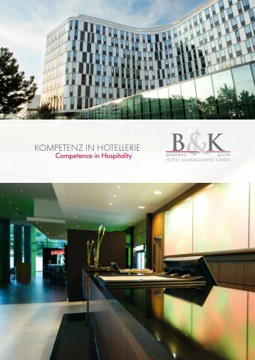Our company profile in PDF - Bierwirth & Kluth | Hotelmanagement ...