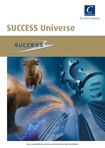 der Success Universe Produktfolder - MBI
