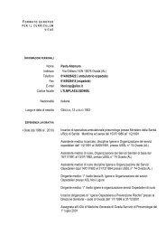 Nome Paola Altemura Indirizzo Via Grillano 14/N 15076 ... - ASL AL