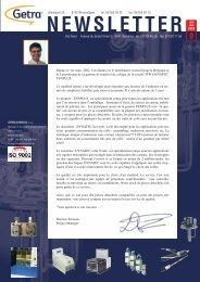 Getra Newsletter 9 - van aerden group