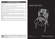 seat harness - Mamas & Papas