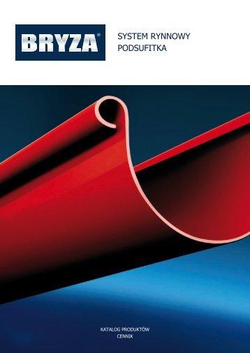 System rynnowy BRYZA Cennik PDF - Goplast