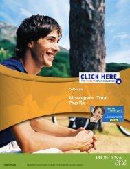 MonogramTM Total Plus Rx - Health Insurance