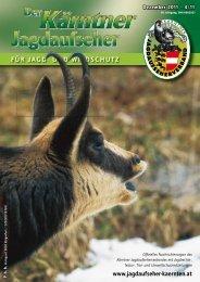 Für Jagd- und Wildschutz - Jagdaufseher Kärnten