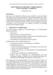"""STANDARD"" NA MODELLE Frederick M. Cate Kurzfassung 1 ..."