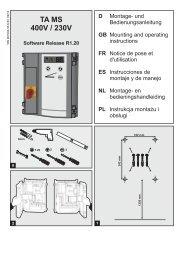 TA MS 400V / 230V - tormatic