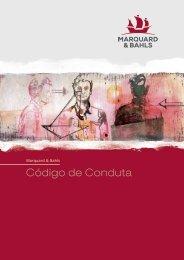 CÓDIGO DE CONDUTA - Marquard & Bahls AG
