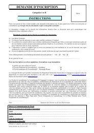 DEMANDE D'INSCRIPTION - Ecole Européenne de Luxembourg I
