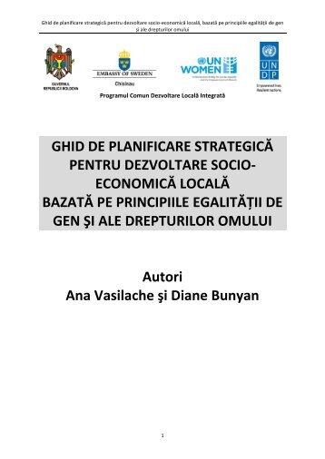 Ghid de planificare strategică pentru dezvoltare ... - Descentralizare