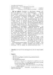 """EVU Mål og indhold: Geodtiske kurver er """"linjerne"""" i en flade. En ..."""