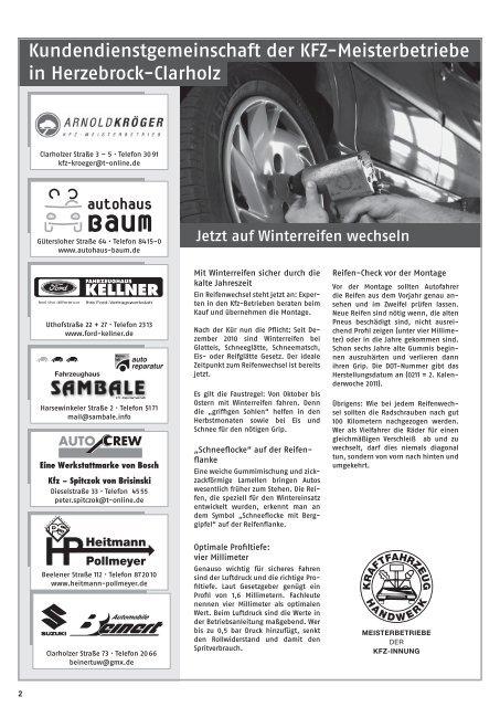 Krampes ideenreich - Gewerbeverein Herzebrock-Clarholz