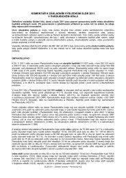 komentář k základním výsledkům sldb 2011 v pardubickém kraji
