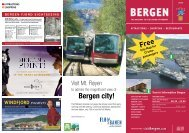 Download the Cruise Brochure - visitBergen