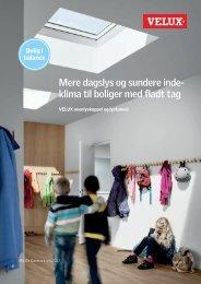 Mere dagslys og sundere inde- klima til boliger med fladt tag