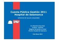 Cuenta Pública 2011 - Servicio de Salud Coquimbo - Home
