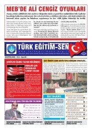meb'de ali cengiz oyunları - Türk Eğitim-Sen