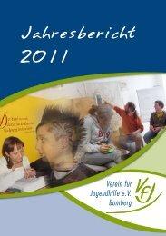 Jahresbericht 2011 - Verein für Jugendhilfe eV