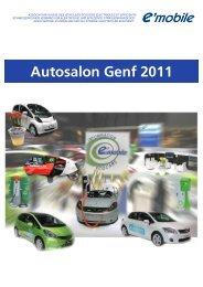 Autosalon Genf 2011 - e'mobile