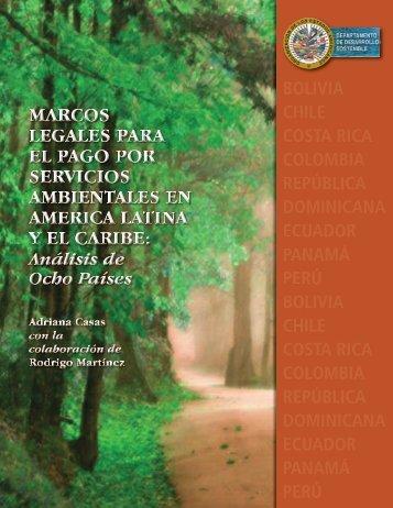 Marcos Legales para el Pago de Servicios Ambientales en América ...