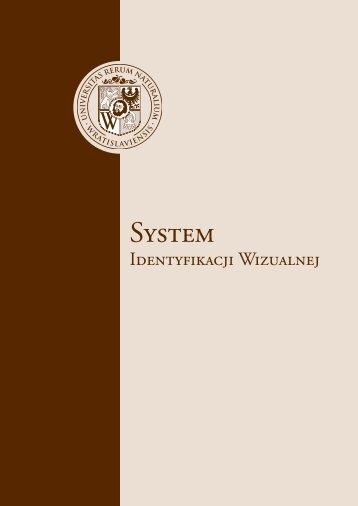 System Identyfikacji Wizualnej - Uniwersytet Przyrodniczy we ...