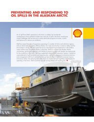 preventing and responding to oil spills in the alaskan arctic