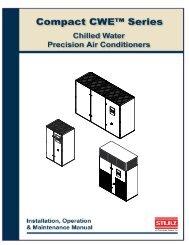 Compact CWE Series Installation, Operation & Maintenance Manual