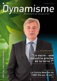 """""""Le sucre : une industrie proche de la terre !"""" - Union Wallonne des ..."""