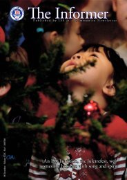 An ISS Tradition, the Juletrefest, wel - the International School of ...