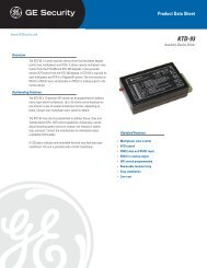 KTD-93 - DATASHEET - US - Interlogix