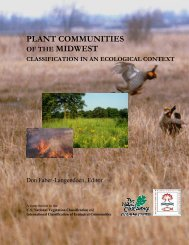 Plant Communities of the Midwest (no plates) - NatureServe