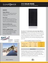215 SOLAR PANEL - SAT Solar