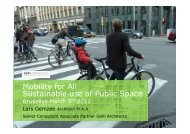 Sustainable Use of Public Space - European Mobility Week